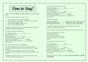 English Worksheets: Listening Exercises - Song: Why (Avril Lavigne)