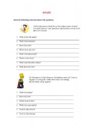English Worksheets: Wh-questions