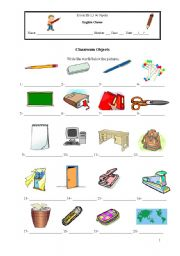 English Worksheets: Try your writing memory!