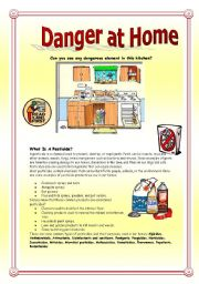 English Worksheet: Danger At Home: Pesticides And Poisons