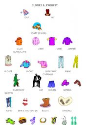 Clothes jwellery