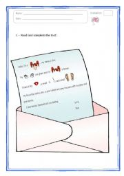 English Worksheets: Sue