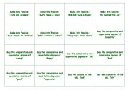 English Worksheet: Monopoly - Passive, Conditionals, Superlatives, Comparatives and many more