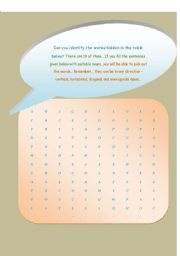 English Worksheets: FIND THE HIDDEN NOUNS