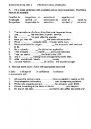 English worksheets: Business English worksheets, page 105