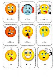 Feelings flashcards 1 these flashcards which can be also used as