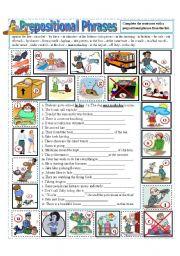 Prepositional Phrases (part 2)
