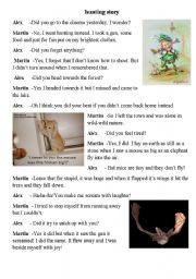 Funny dialog about hunting(based on vocabulary from