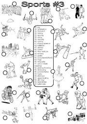 sports 3 esl worksheet by im lety. Black Bedroom Furniture Sets. Home Design Ideas