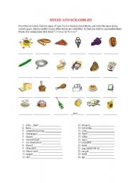 English worksheets: the Food worksheets, page 785