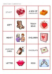 Vocabulary worksheets > Holidays and traditions > Valentine´s day