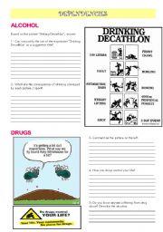 English Worksheets: DEPENDENCIES