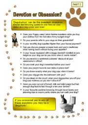 English Worksheets: Dogs, dogs, dogs! - Part I