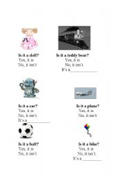 English Worksheets: Is it a....?