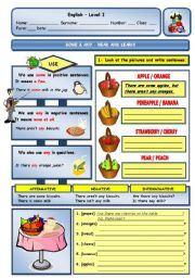 English Worksheets: SOME & ANY