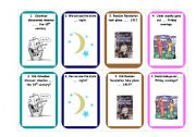 Prepositions of time- card game 1/3