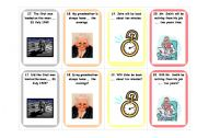 English Worksheet: Prepositions of time - card game 3/3