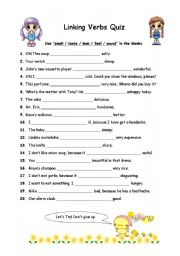 Worksheet Linking Verbs Worksheet english worksheets linking verbs page 3 re verb quiz