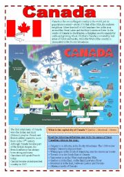 Grade 6 geography worksheets canada