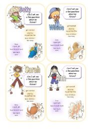 English Worksheets: Future telling