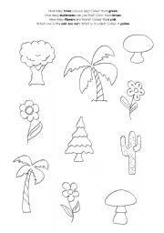 selecting plants esl worksheet by imeonh