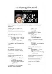 English worksheet: The Adventure of Johnnie Waverly worksheet