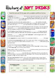 The history of soft drinks