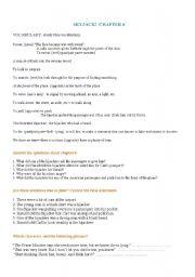 English Worksheets: Skyjack! Chapter 6