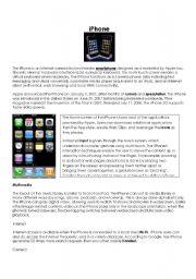 English Worksheets: iPhone