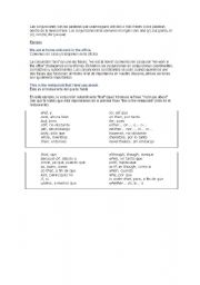 English Worksheet: Conjunctions and Interjections