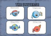 English Worksheet: the Planets flashcards...