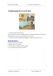 English Worksheets:  Aesop´s Fables1