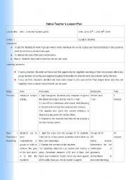 English Worksheet: Alibi lesson plan with prints
