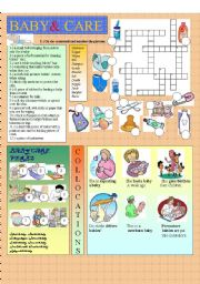 English Worksheets: BABY&CARE
