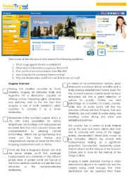 English Worksheet: Uruguay: a country to discover