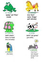 English Worksheets: guess animals?