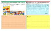 English Worksheets: Writing Practice!