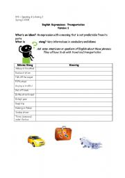 idioms exercises with answers pdf