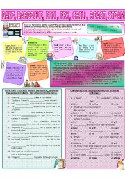 English Worksheet: COLLOCATION 37 - BAKE, BARBECUE, BOIL, FRY, GRILL, ROAST, STEAM