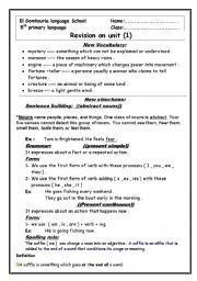 Worksheets Grade 5 English Worksheets grade 5 english worksheets for laptuoso reading comprehension revision sheet unit 1 macmillan 5