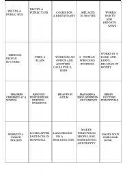 English Worksheets: Profession match