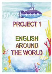 English Worksheet: project 1 - English around the world