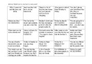 Modal verbs - board game