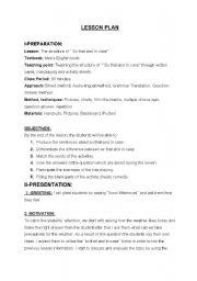 English Worksheets: ingizce ders plan�