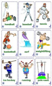 Sports _ Cards / Flash-cards