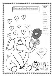 English worksheets: the Numbers worksheets, page 68