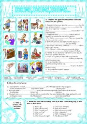 English Worksheets: IDIOMS,IDIOMS,IDIOMS...(23)