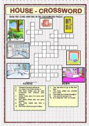 HOUSE - CROSSWORD