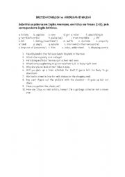English Worksheets: English varieties