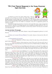 English Worksheet: Games and activities for young learners